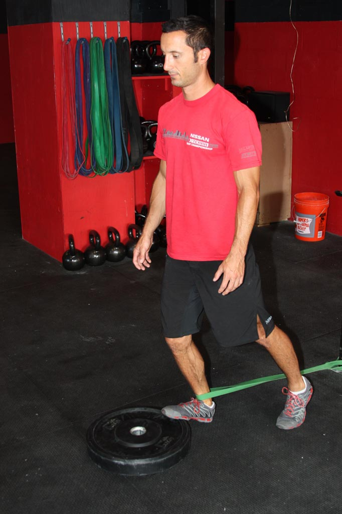 banded heel capsule transition