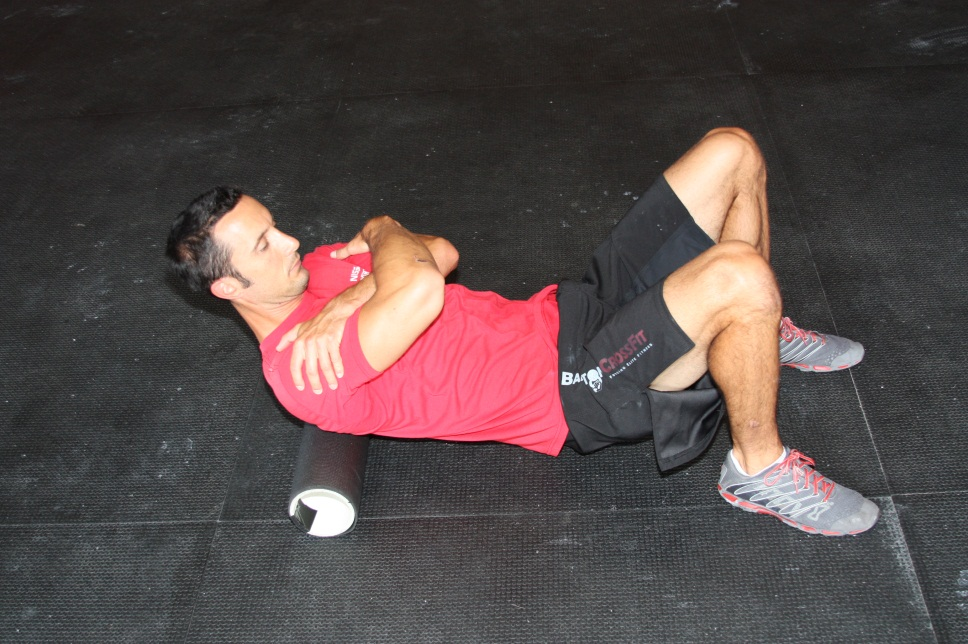 Foam Roll T-Spine Smash