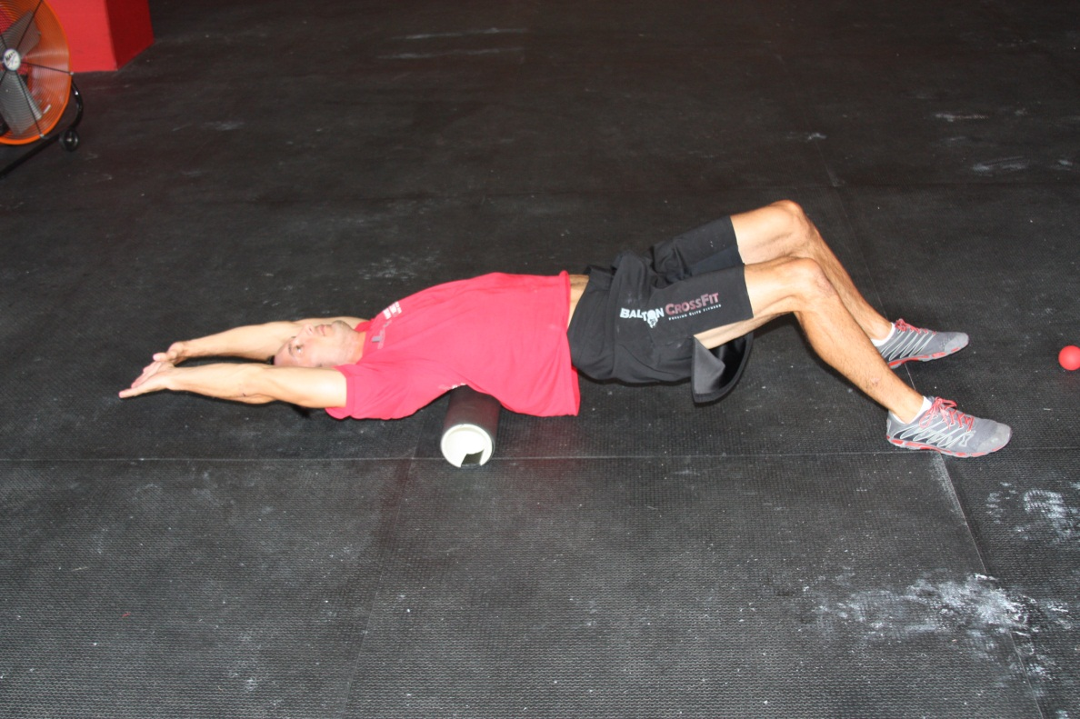 Overhead T Spine Mobilization 2/2